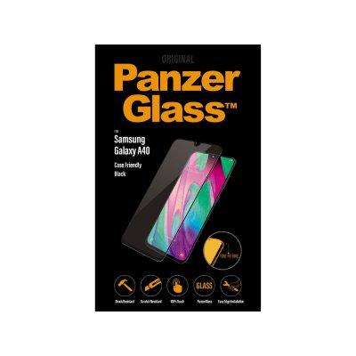 PanzerGlass Samsung Galaxy A40 tokbarát üvegfólia (5711724071898) fekete