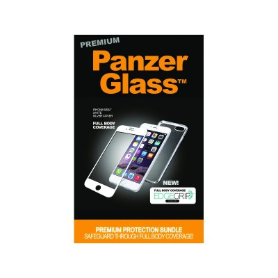 PanzerGlass Apple iPhone 6/6s/7/8 üvegfólia és szilikontok (5711724226168) fehér