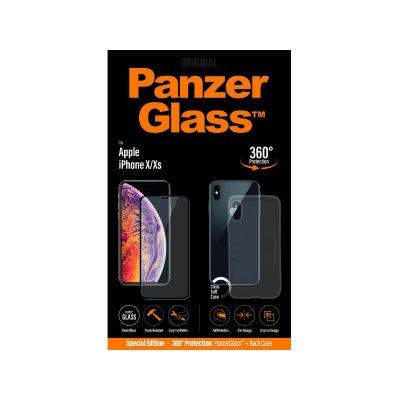 PanzerGlass Apple iPhone X/Xs üvegfólia és szilikon tok (5711724226236) fekete