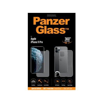 PanzerGlass Apple iPhone 11 Pro üvegfólia és szilikon tok (5711724226618) átlátszó