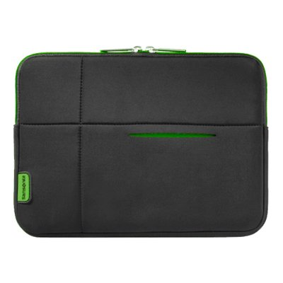 "SAMSONITE AIRGLOW SLEEVE 10.2"" BLACK/GREEN"