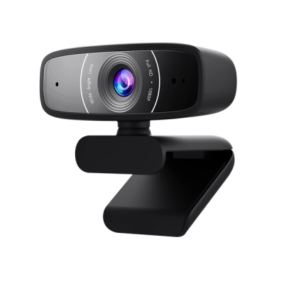 ASUS C3 FullHD 1080p Webkamera (WEBCAM C3) fekete