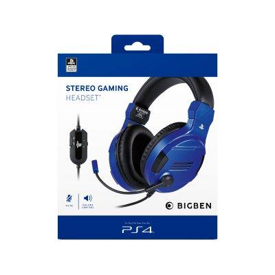 Bigben PS4 Stereo Gaming Headset V3 Kék