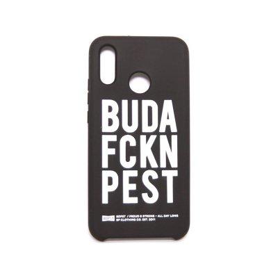 BP BUDAFCKNPEST design tok Huawei P20 Lite Fekete
