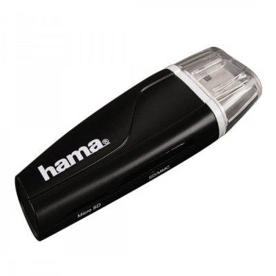 HAMA USB2.0 SDXC kártyaolvasó (54115) fekete