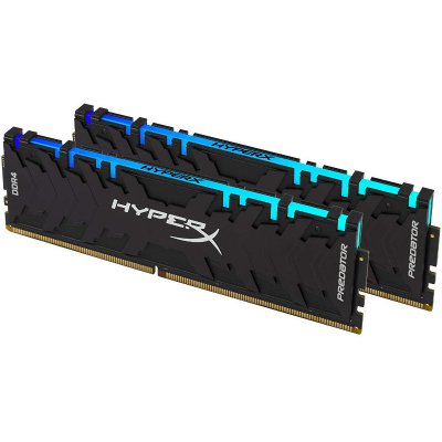KINGSTON HyperX Predator 16GB DDR4 2933MHz (HX429C15PB3AK2/16) RGB Memória