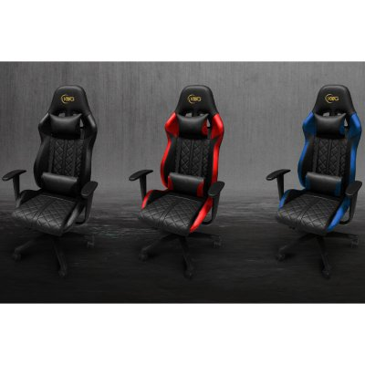 KWG Gamer Szék CETUS E1 Fekete-kék (17521-01300-00041-G)
