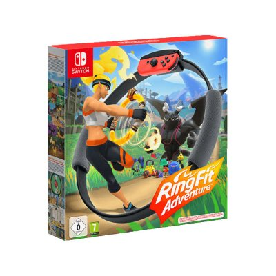 Nintendo Switch Ring-Con + Ring Fit Adventure