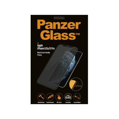 PanzerGlass Apple iPhone X/Xs/11 Pro Privacy tokbarát üvegfólia (5711724126642) fekete
