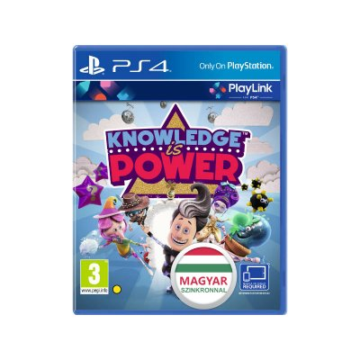 Knowledge is Power PlayLink PS4 (magyar szinkronnal)