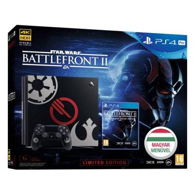 PS4 Pro 1 TB Konzol Star Wars Battlefront II (2) Limited Edition