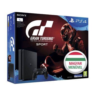 PS4 Slim 1 TB Konzol + Gran Turismo Sport