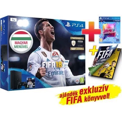 PS4 Slim 1 TB Konzol + Fifa 18