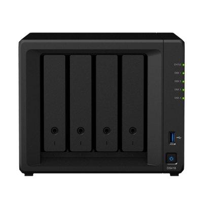 Synology DS418 Hálózati Adattároló (NAS) 4 HDD
