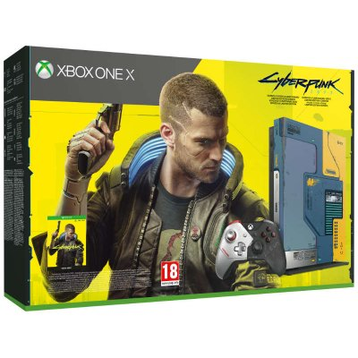 Xbox One X 1TB Konzol Cyberpunk 2077 Limited Edition