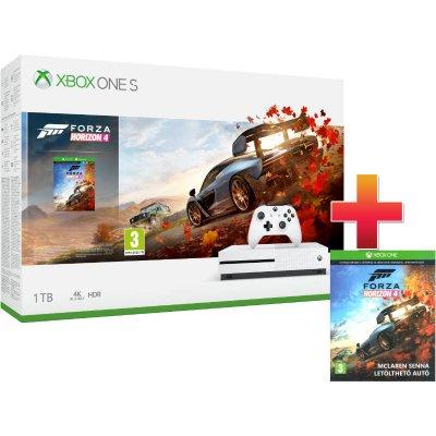 Xbox One S 1 TB Konzol Forza Horizon 4 csomag