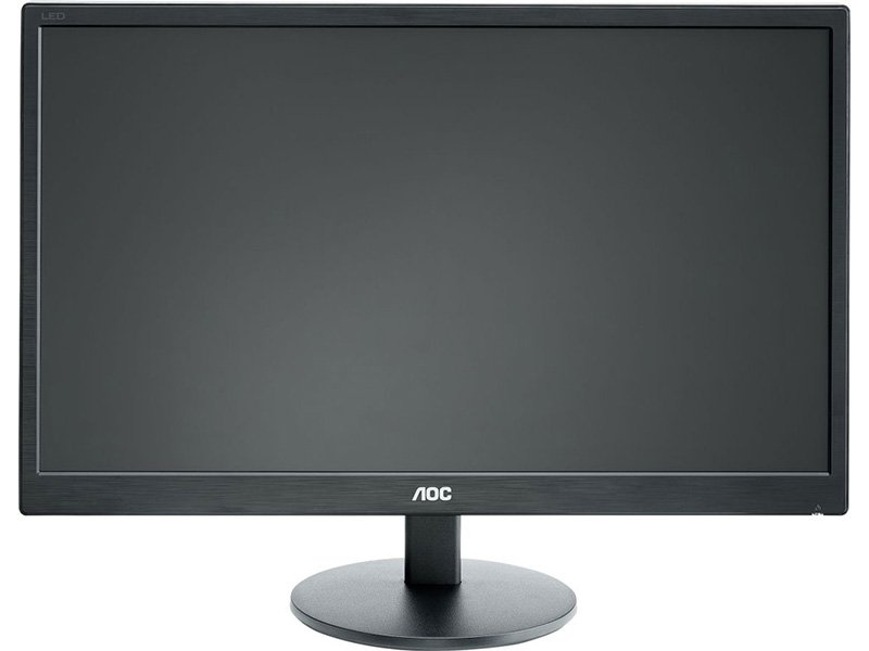 "AOC 19.5"" LED Monitor (E2070SWN) fekete"