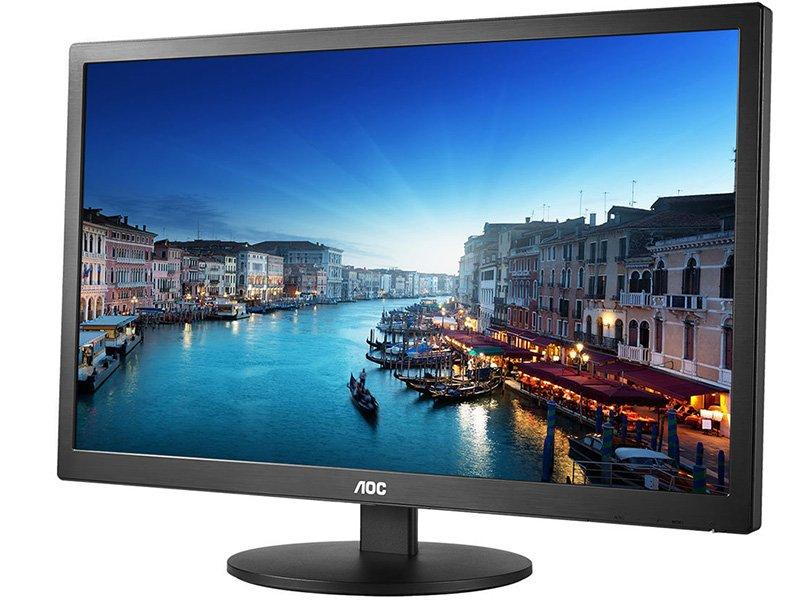 "AOC 23.6"" LED Monitor (E2470SWHE) fekete"