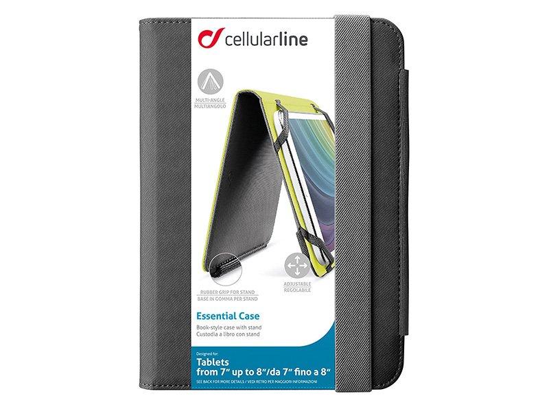 Cellularline ESSENTIAL univerzális tablet tok 7-8