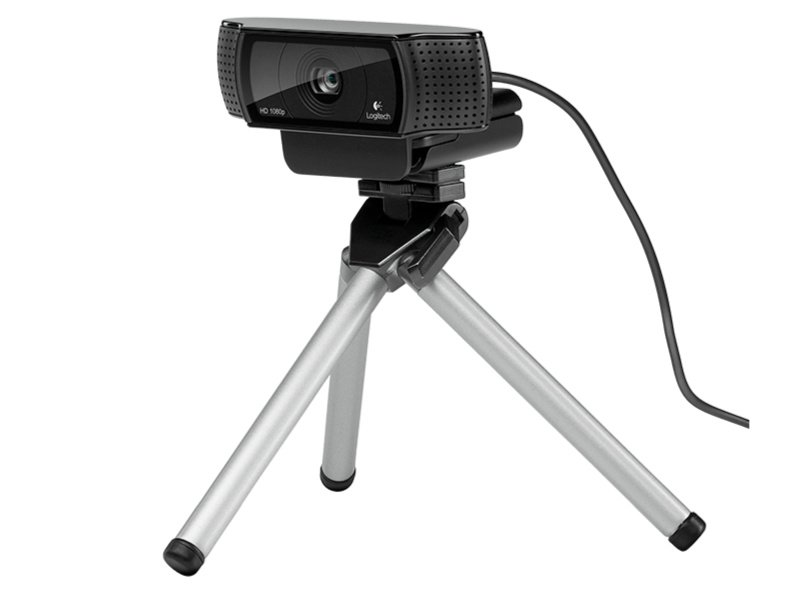 LOGITECH C920 HD Pro FullHD (1080p) webkamera (960-001055) Fekete