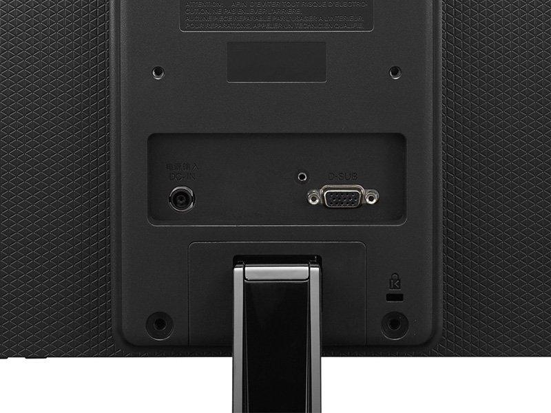 "LG 19M38A 18,5"" LED Monitor fekete"