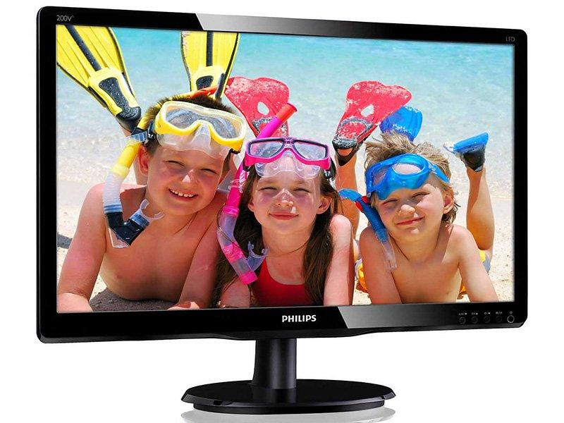 """Philips 200V4QSBR 19,5"""" MVA Monitor"""