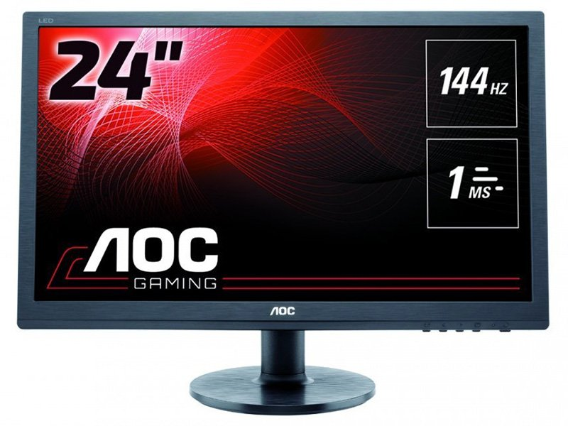 "AOC 24"" LED Monitor (G2460FQ) Fekete"