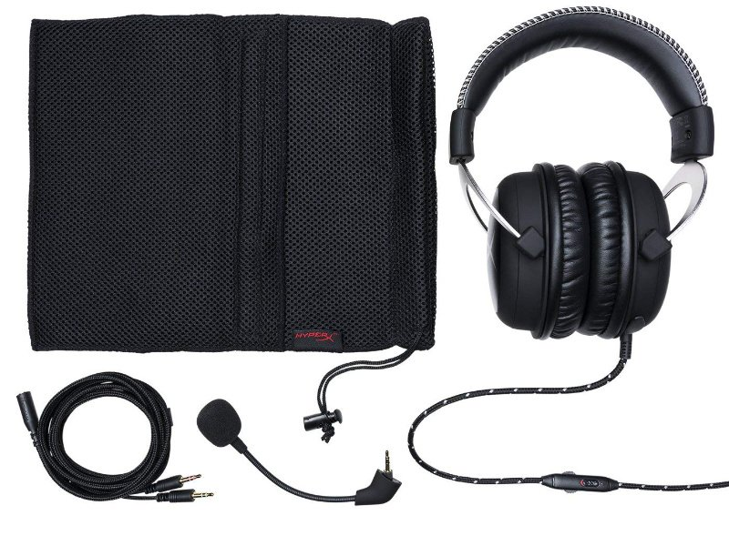 HYPERX Cloud Gaming headset (HX-HSCL-SR/NA) ezüst