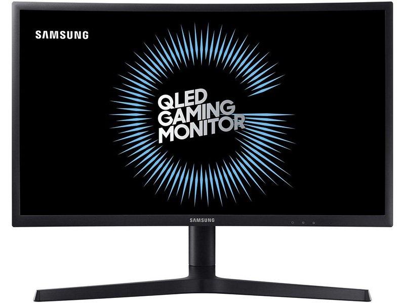 "SAMSUNG ívelt VA panel LED Monitor 27"" C27FG73FQUX, 1920x1080, 16:9, DCR 3000:1 CR, 350cd/m2, 1ms, 2xHDMI,DP, Freesync"