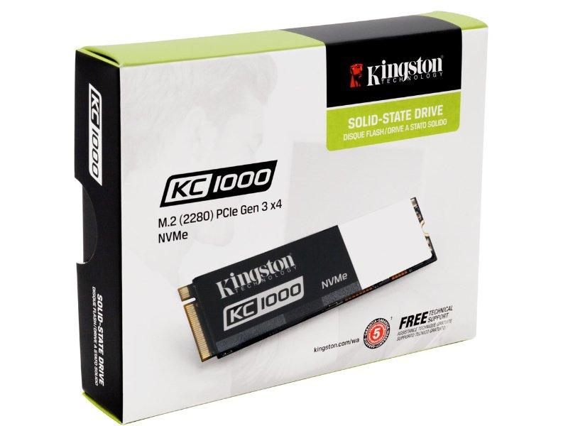 KINGSTON KC1000 NVMe PCIe M.2 SSD 240GB (SKC1000/240G)