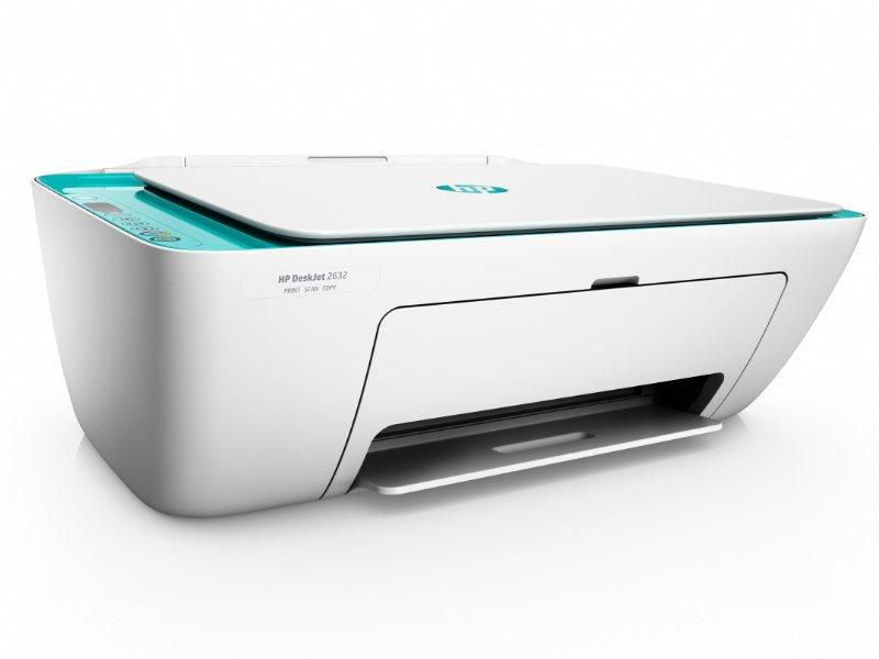 HP Deskjet 2632 Tintasugaras nyomtató (V1N05B) zöld
