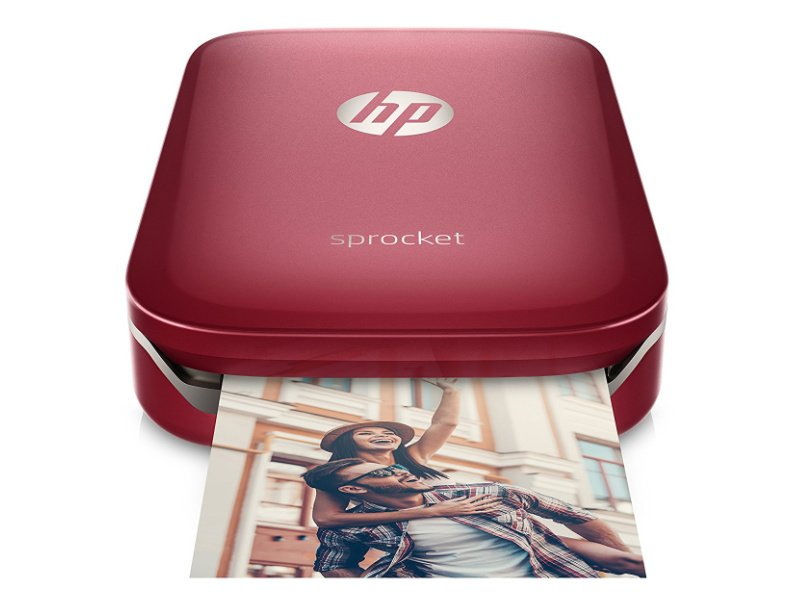 HP Sprocket mini fotónyomtató (Z3Z93A) Vörös