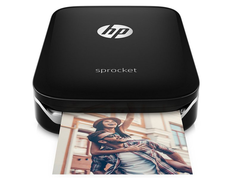 HP Sprocket mini fotónyomtató (Z3Z92A) Fekete