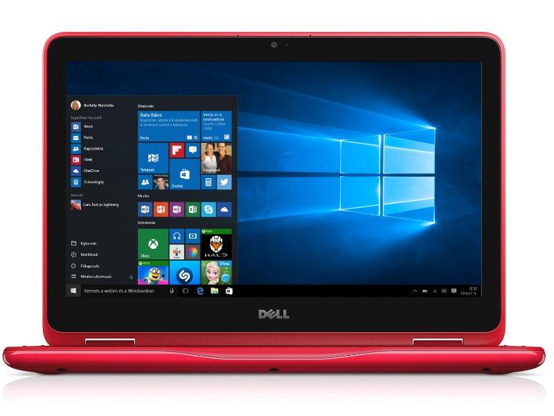 c43baf26aeb3 Dell Inspiron 11 3168 2in1 (240590) piros Laptop - Kifutott