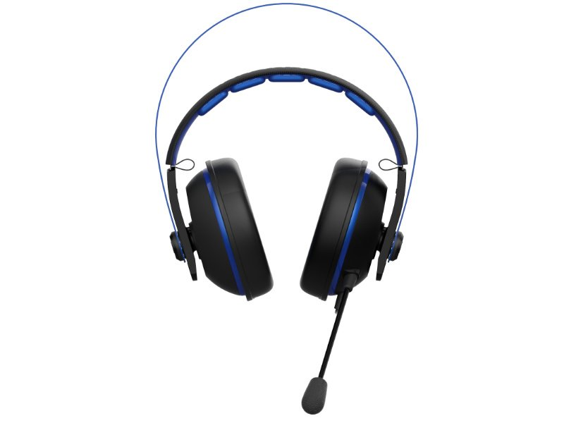 Asus Cerberus V2 PC/PS4 Headset Kék