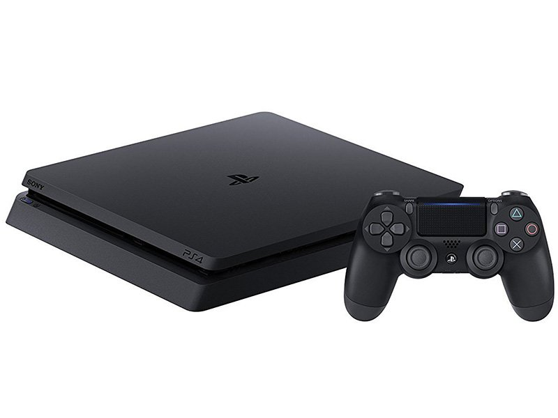 PS4 Slim 500 GB Konzol + 1 PS4 kontroller + Fifa 19 + Fortnite bónusz tartalom