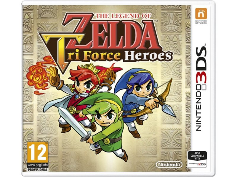 The Legend of Zelda: TriForce Heroes 3DS