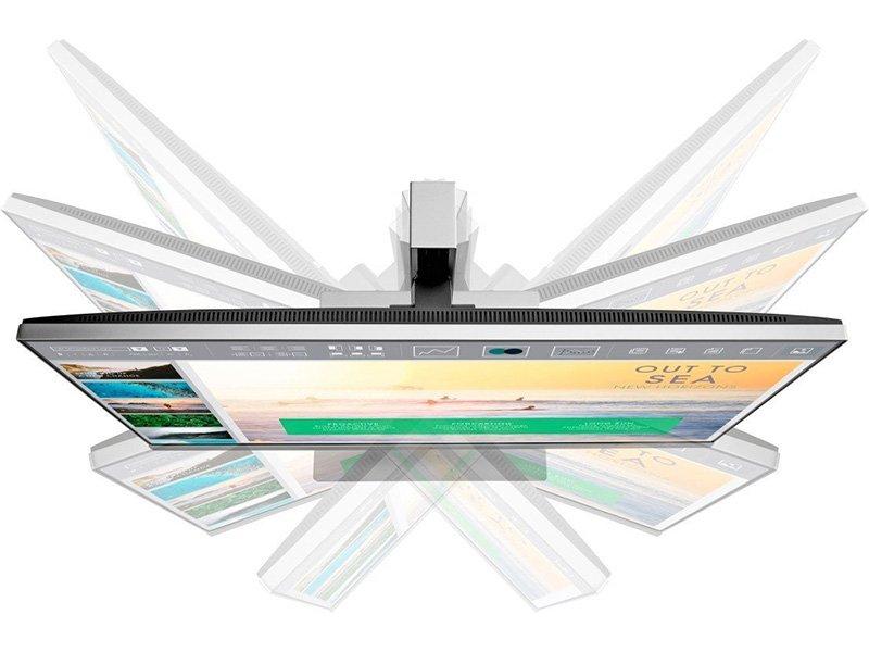 "HP 23.8"" E243 EliteDisplay LED Monitor ezüst-fekete"
