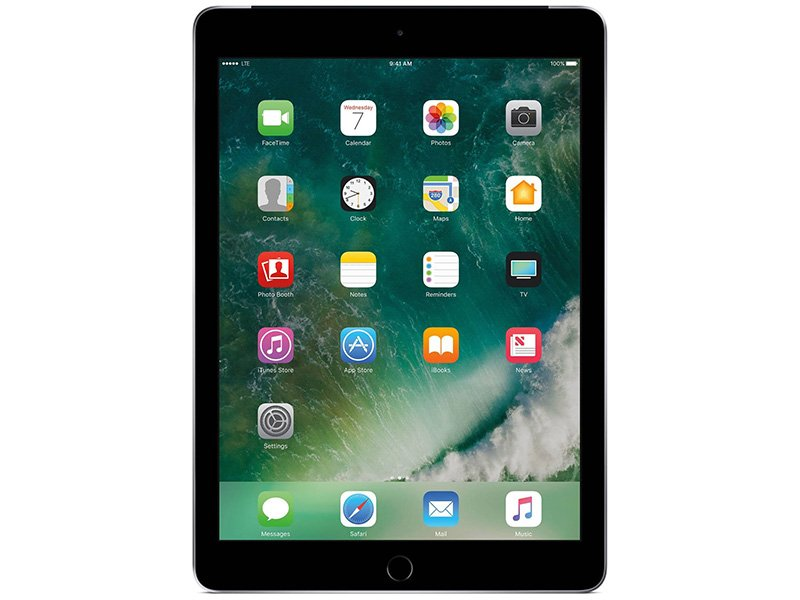 "Apple 9.7"" iPad Cellular 32GB - Space Grey (2017)"