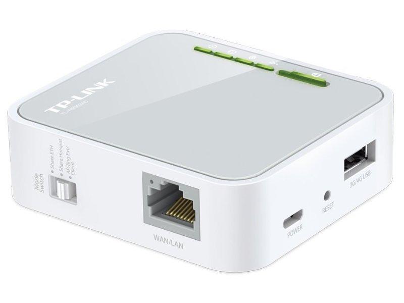 TP-LINK WR902AC (AC750) vezeték nélküli mini router