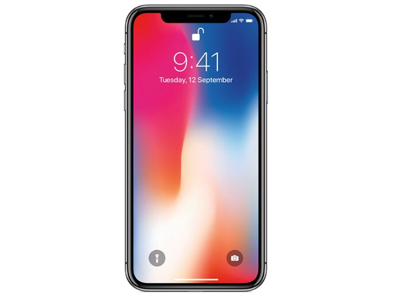 APPLE iPhone X 64GB (MQAC2GH/A) Asztroszürke