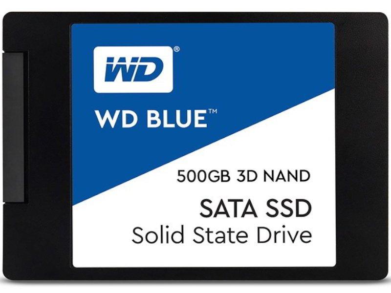 Western Digital 500GB SATA Blue 3D NAND SSD (WDS500G2B0A)