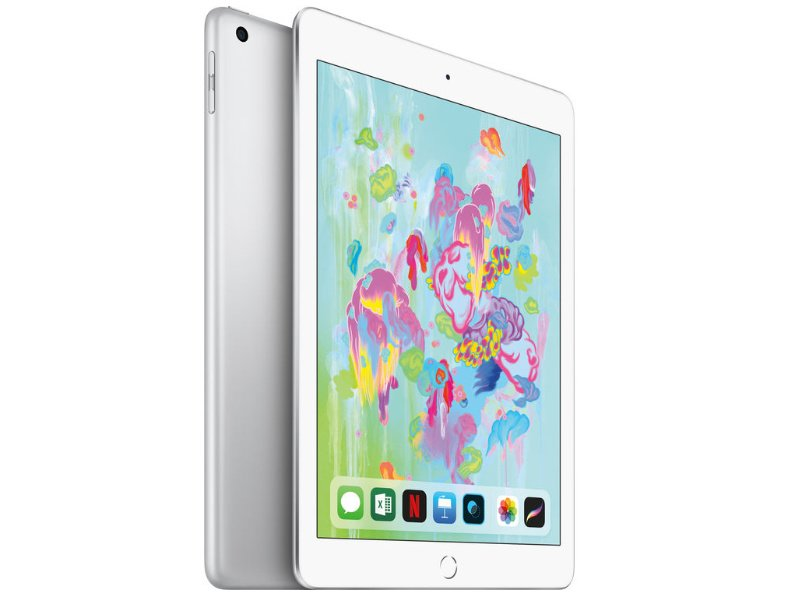 "APPLE IPAD6 9.7"" WIFI 128GB (MR7K2HC/A) ezüst (2018)"