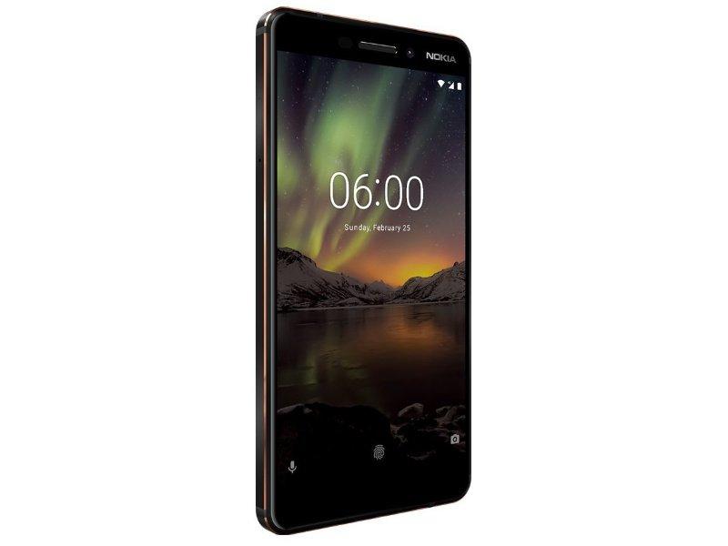 Nokia 6.1 32GB Dual-SIM (11PL2B01A10) fekete
