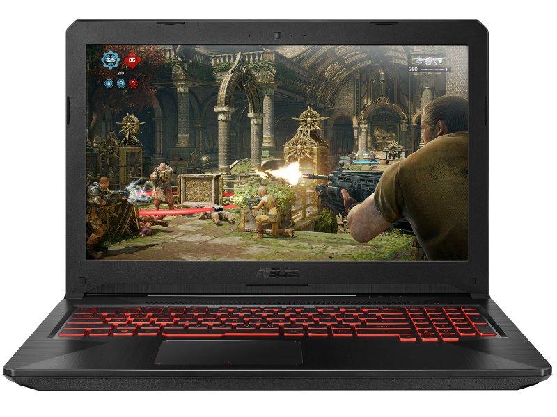 ASUS TUF Gaming FX504GM (FX504GM-E4388) sötét anyag