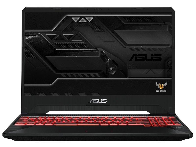 Asus TUF Gaming FX505DT (FX505DT-AL400) Fekete / Vörösanyag