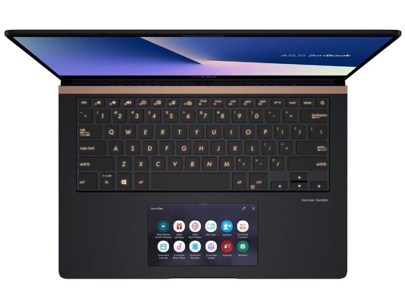 Asus ZenBook Pro 14 UX480FD (UX480FD-BE012T) Mélytenger kék