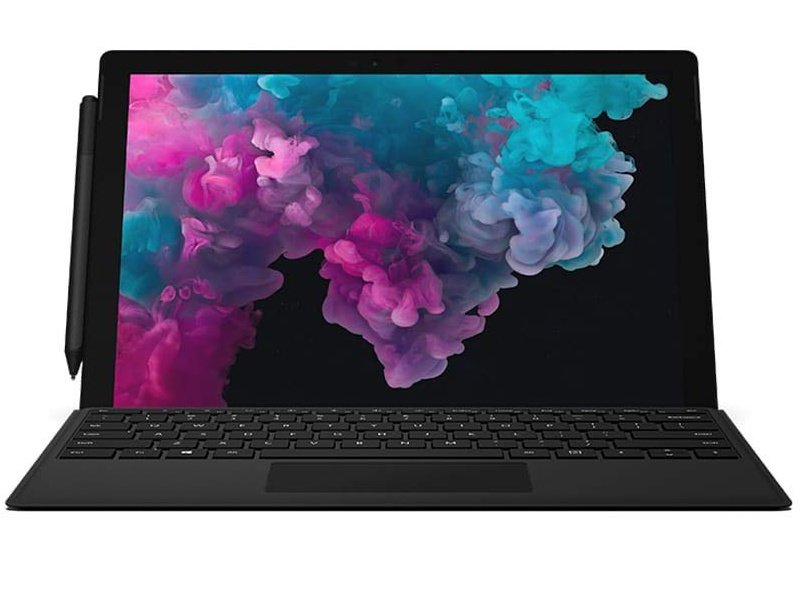 Microsoft Surface Pro 6 (KJU-00024) fekete