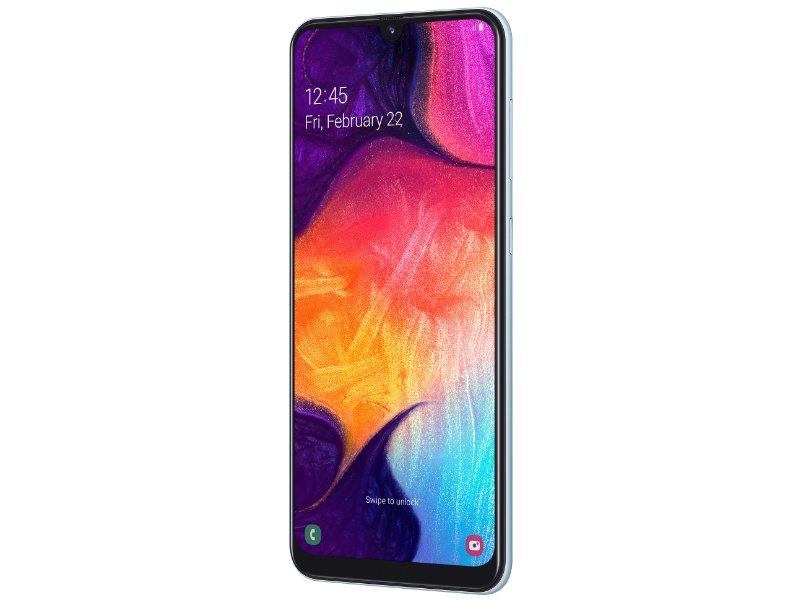 Samsung Galaxy A50 Dual-Sim 128GB (SM-A505FZWSXEH) Fehér