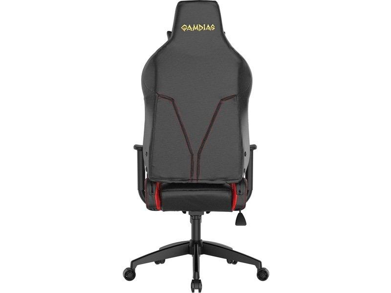 Gamdias Achilles E2-L Gamer Szék Fekete/piros